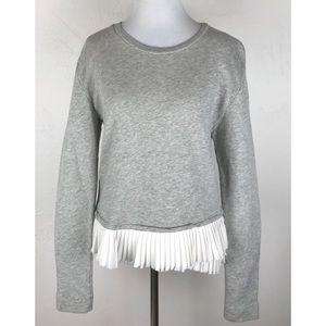 J.Crew Ruffle Hem Sweater